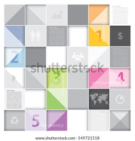 Abstract Banner and Background Infographics Design Template