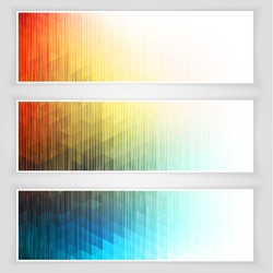 Abstract banners collection - eps10