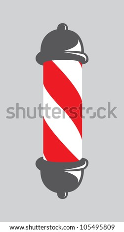 abstract barber pole