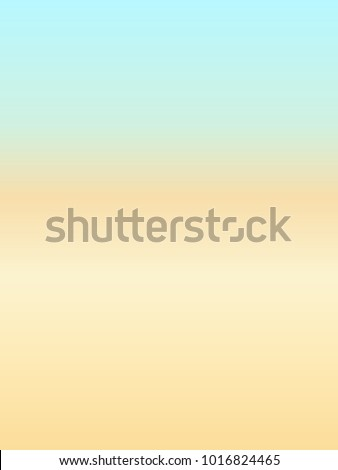 Abstract beach background gradient in soft retro colors