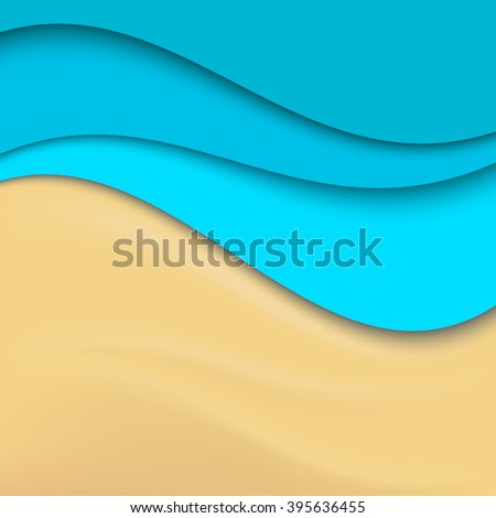 abstract beach background sea