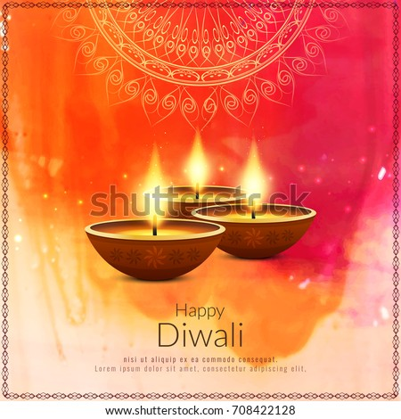 Abstract beautiful Happy Diwali background