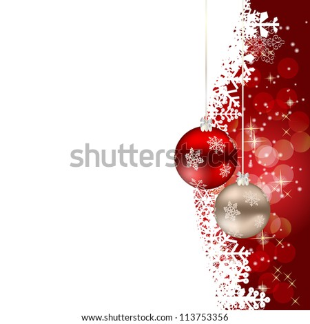 Abstract beauty Christmas and New Year background. #113753356