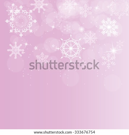abstract beauty christmas and new year background vector illustration eps10