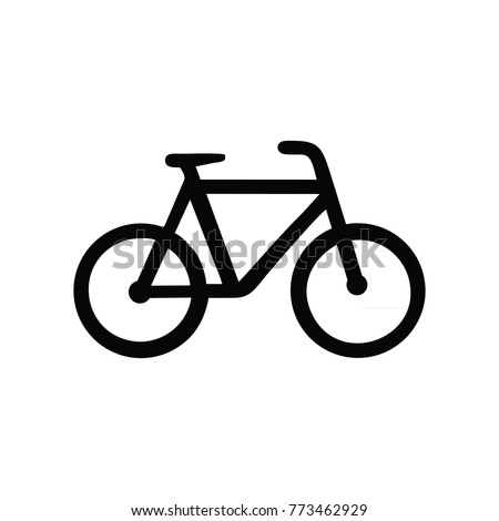 abstract bicycle logo