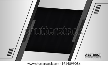 abstract black and gray