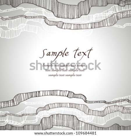 Abstract black and white effect text background with weaves. Template text banner