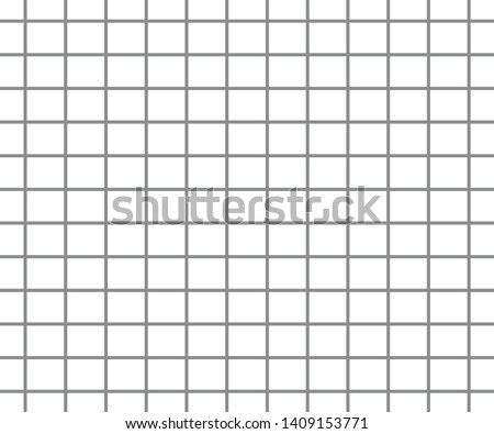 Abstract Black and White Grid Striped Geometric Pattern line Background. illustration - Vector