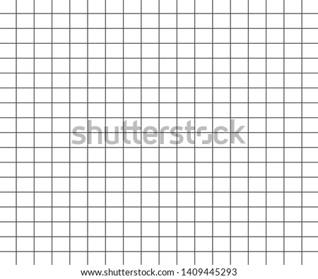 Abstract Black and White Grid Striped Geometric Seamless Pattern line Background. illustration - Vector