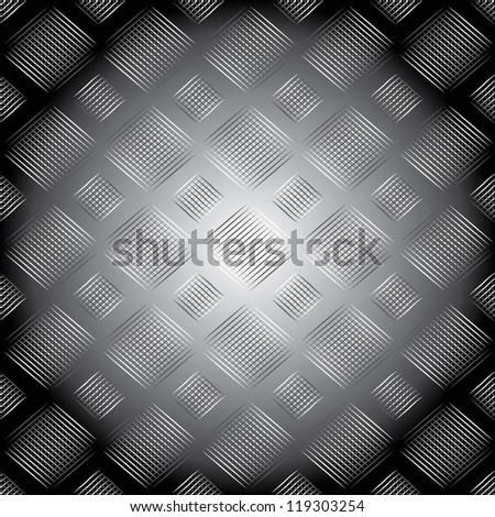 Abstract black and white seamless pattern.