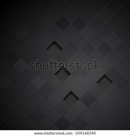Abstract black background. Clip-art