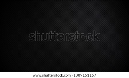 Abstract black background. Dark cool background. Vector illustration.