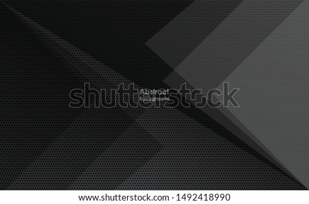 Abstract black background with diagonal line texture Modern look