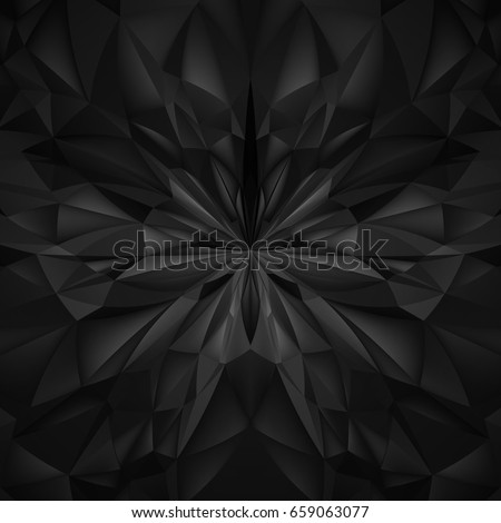 abstract black composition