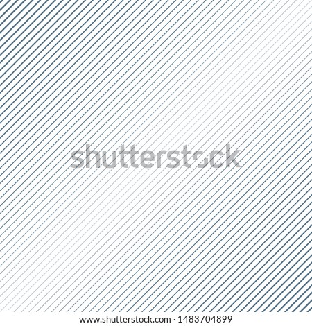 Abstract Black Diagonal Striped Background . Vector straight lines texture