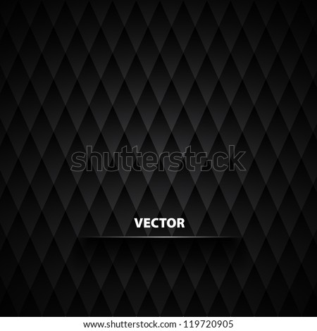 abstract black diamond