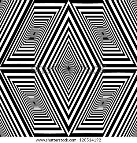 Abstract black & white pattern