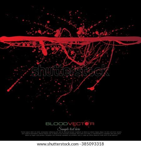 abstract blood splatter