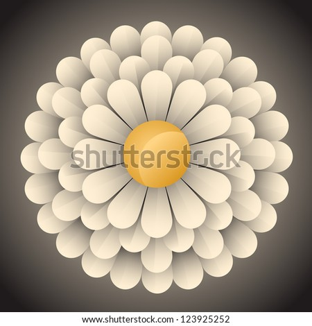 abstract blossom flower