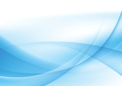 Abstract blue and white wave background Illustrations for templates - Partners
