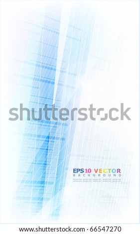 Abstract blue background.Eps10. - stock vector
