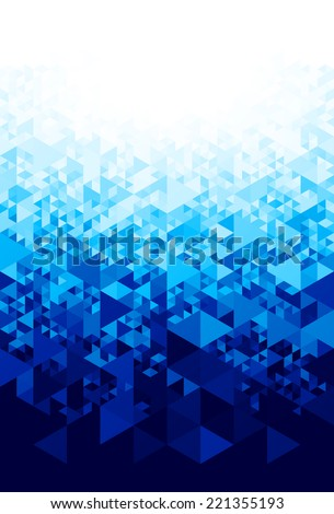 abstract blue background eps8