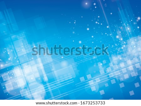 abstract blue background . vector digital image.
