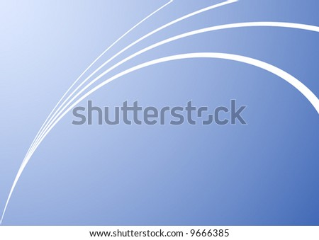 Abstract blue background vector illustration.