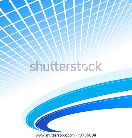 Abstract blue background. Vector illustration. Clip-art