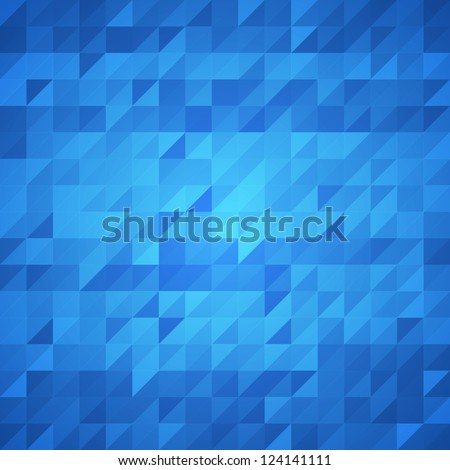 Stock Photo Abstract blue background. Vector image