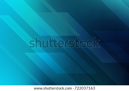 abstract blue background with lines. illustration technology.