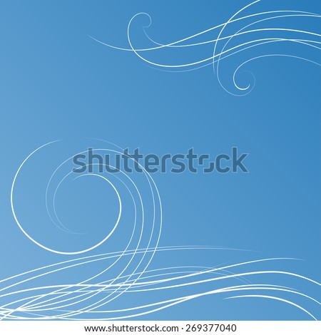 abstract blue background with