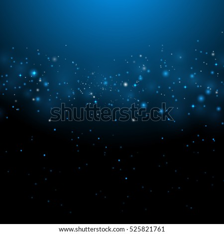 Stock Photo Abstract blue bokeh background,  vector illustration