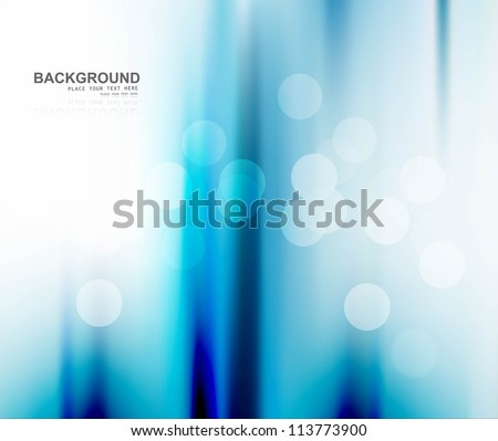 abstract blue bright business colorful wave vector illustration