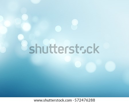 abstract blue circular bokeh