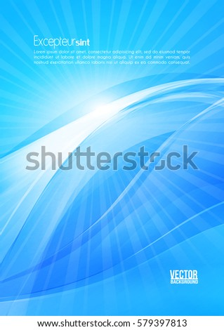 abstract blue color modern