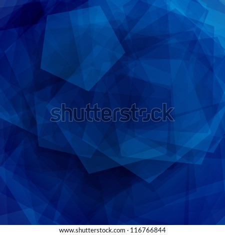Abstract blue EPS10 vector illustration