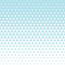 Abstract blue geometric hipster fashion design print halftone triangle pattern
