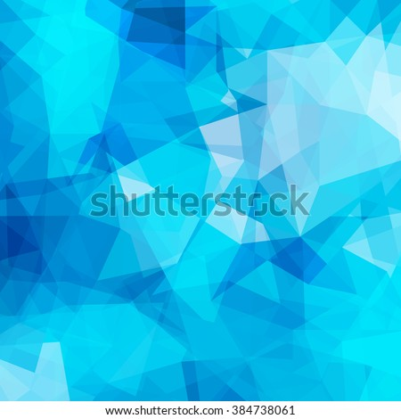 abstract blue geometrical