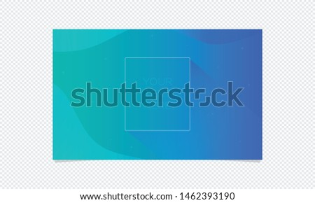 Abstract Blue Gradient Background shapes. Gradient shapes composition.