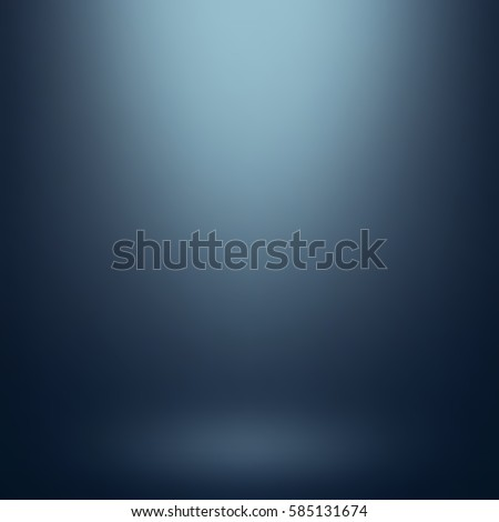 Abstract blue gradient. Used as background for product display. Vector illustration eps 10.