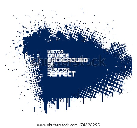 stock-vector-abstract-blue-grunge-background