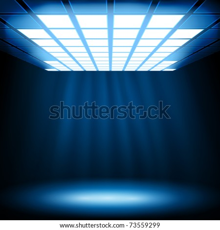 Abstract blue light background. Vector eps10 illustration