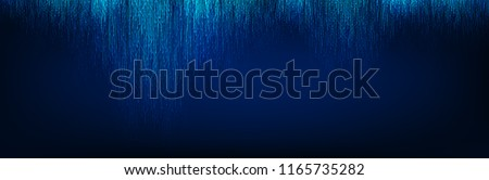 Abstract Blue Light Circuit Microchip Technology on Future Background,Hi-tech Digital Sound wave and Studio Concept design,Free Space For text in put,Vector illustration.