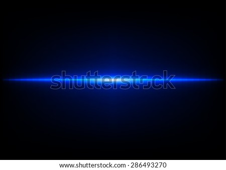 abstract blue light effect