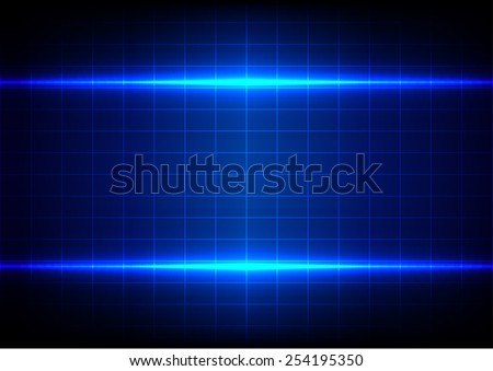 abstract blue lighting and