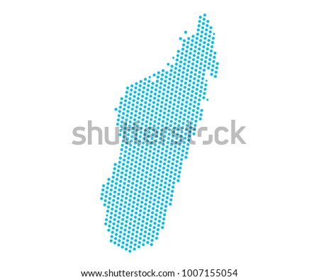 Free vector map of madagascar free vector art at vecteezy abstract blue map of madagascar dots planet lines global world map halftone concept gumiabroncs Images