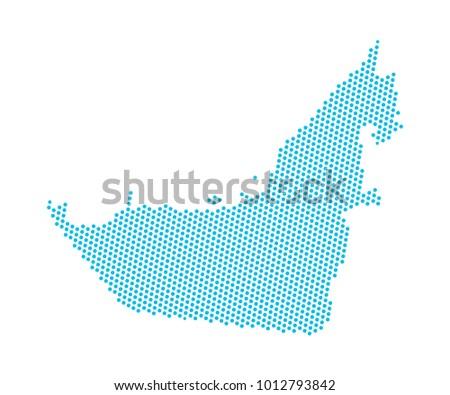 United Arab Emirates Map - Download Free Vector Art, Stock Graphics ...