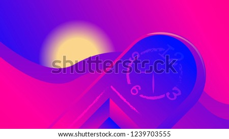 abstract blue pink background