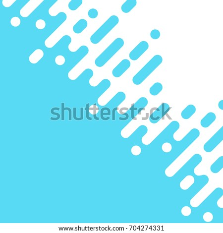 Abstract blue Rounded Lines dialognal Halftone Transition Vector Background Illustration